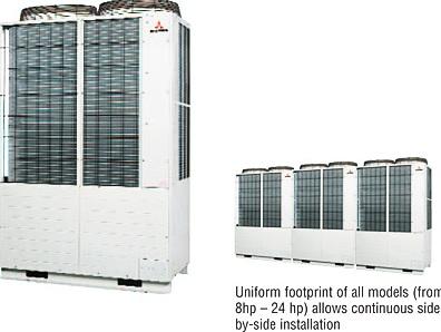 Máy lạnh trung tâm Mitsubishi